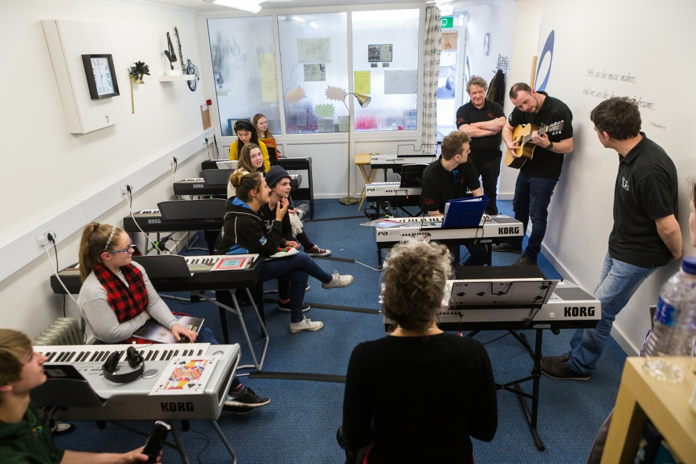 The Jazz Department at Music Makers Academy, Worle, Weston-super-Mare, Somerset